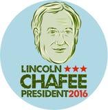Lincoln Chafee President 2016 Royalty-vrije Stock Afbeeldingen