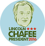 Lincoln Chafee President 2016 Royalty Free Stock Images