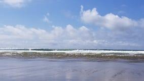 Lincoln City Oregon Beach Sun royalty-vrije stock foto