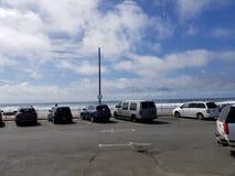 Lincoln City Oregon Beach Sun royalty-vrije stock fotografie