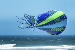 Annual Kite Flying Festival. Lincoln City, Oregon, USA - June 26,02016:  Annual Kite Flying festival in Lincoln City on the Oregon Coast Royalty Free Stock Photo