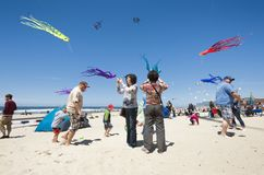 Annual Kite Festival in Lincoln City Oregon royalty free stock photo