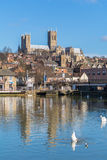 Lincoln Cityscape - 03/03/2014 Royalty Free Stock Photography