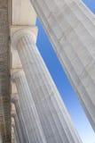 Lincoln Columns Stockfoto