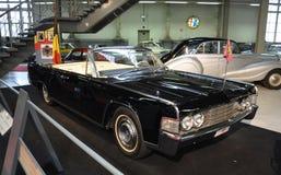 Lincoln Continental, automobile presidenziale, 1965 Fotografia Stock Libera da Diritti