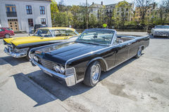 1965 Lincoln Continental 4 Deur Convertibele Sedan Stock Afbeelding