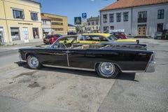 1965 Lincoln Continental 4 Deur Convertibele Sedan Stock Foto's