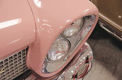 Lincoln Continental-koplamp Royalty-vrije Stock Fotografie