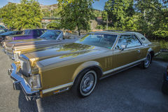 1979 Lincoln Continental Mark V Stock Afbeelding