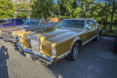 1979 Lincoln Continental Mark V Stock Photography