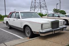 1980 Lincoln Continental Mark VI Stock Afbeelding