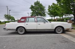 1980 Lincoln Continental Mark VI. Is a full-size luxury car sold by Ford Motor Company Royalty Free Stock Photo