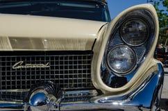Lincoln Continental oldtimerbil Royaltyfria Bilder