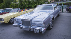 1973 lincoln continental Stock Photo