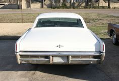 Lincoln Continental Rear View Royalty Free Stock Images