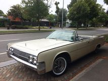 Lincoln Continental 1963 royalty free stock image