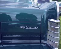 Lincoln Continental - voiture de cru images stock
