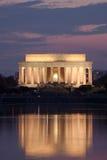 Lincoln-Denkmal stockfotos