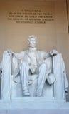 Lincoln-Denkmal Lizenzfreies Stockfoto