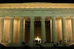 Lincoln Memorial Stockbilder