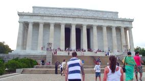 Lincoln-Denkmal Washington DC stock video footage