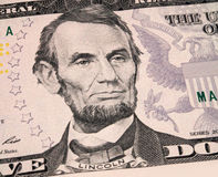 Lincoln on dollar Royalty Free Stock Photography