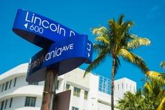 Miami plaża fotografia stock