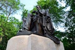 Lincoln en el parque de Grant Imagen de archivo