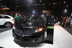 Lincoln exposition. Chicago auto show February 2011 Stock Photo