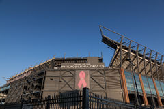 Lincoln Financial Field, Philadelphie, PA Photographie stock libre de droits