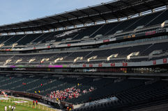Lincoln Financial Field - Temple football pregame Stock Photo