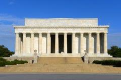 Lincoln-gedenkteken in Washington DC, de V Royalty-vrije Stock Foto's