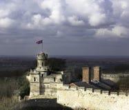 Lincoln grodowa wieżyczka Zdjęcie Royalty Free