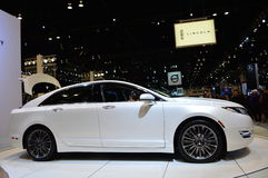 The 2015 Lincoln 2.0H on dispay at the Chicgago Auto Show Royalty Free Stock Images