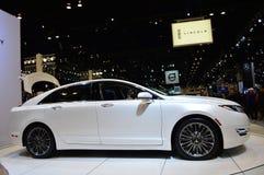 2015 Lincoln 2 0H op dispay in Chicgago Auto toon Royalty-vrije Stock Afbeeldingen