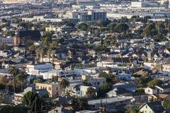 Lincoln Heights a Los Angeles Fotografie Stock Libere da Diritti