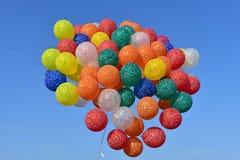 Lincoln, Illinois - EUA - 25 de agosto de 2017: Balões no festival do balão de Illinois Imagens de Stock