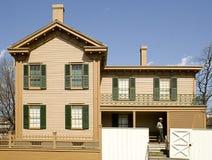 Lincoln jest w domu z przodu Obrazy Stock