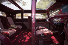 1934 Lincoln KA Interior Stock Photo