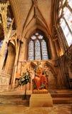 Lincoln katedry wnętrze Obraz Royalty Free