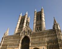 Lincoln-Kathedrale Lizenzfreie Stockfotos