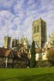 Lincoln-Kathedrale Stockfoto