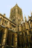 Lincoln-Kathedrale-Architektur Lizenzfreie Stockfotografie