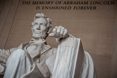 Lincoln, The Legacy of a President Stock Images