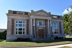 Lincoln Library Fotografia Stock
