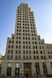 Lincoln Life Building Fort Wayne Indiana stockbilder