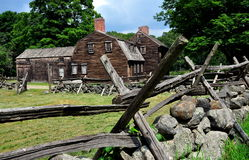 Lincoln, mA: Locanda storica 1732 di Hartwell Fotografia Stock Libera da Diritti