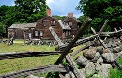Lincoln, mA : Taverne 1732 historique de Hartwell Photographie stock libre de droits