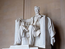 Lincoln memorial. Statue of Abraham Lincoln in Washington D.C Royalty Free Stock Photography