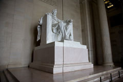 Lincoln Memorial. The Lincoln Memorial in Washington, DC, during the day Royalty Free Stock Photo